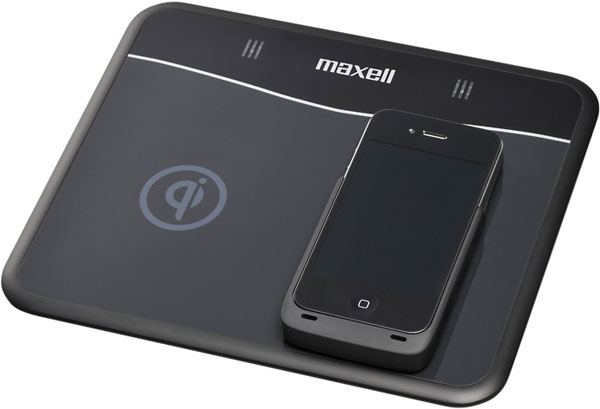 Hitachi Maxell анонсировала индуктивное зарядное устройство