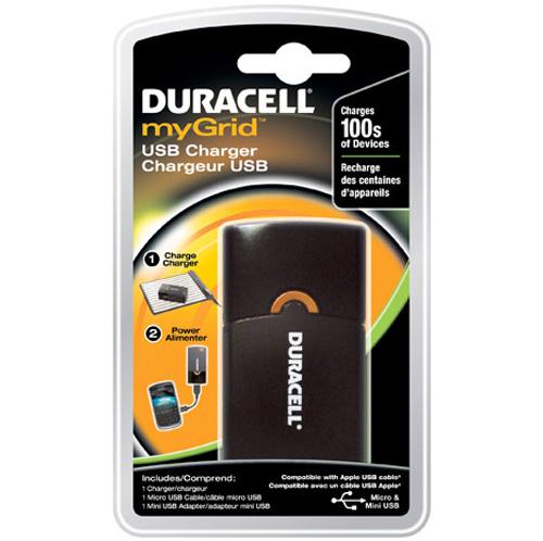 Duracell выпустила зарядное устройство с портом USB